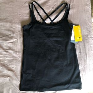 Champion black workout top